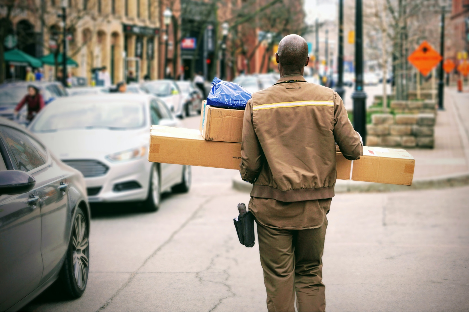 Courier Industry embracing the Future