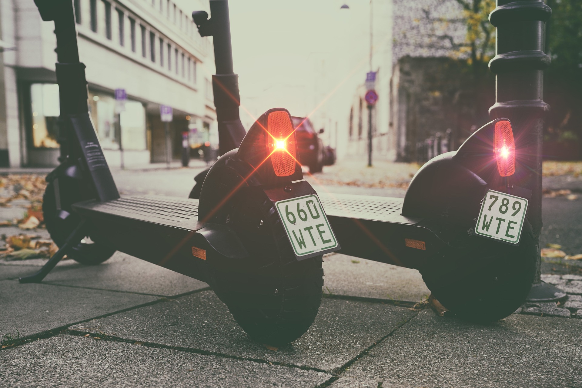 e-Scooters are slowly emerging as a solution for courier services